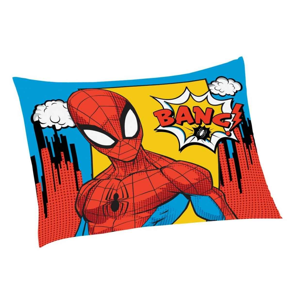 Fronha infantil licenciada 50x70 Spider-Man