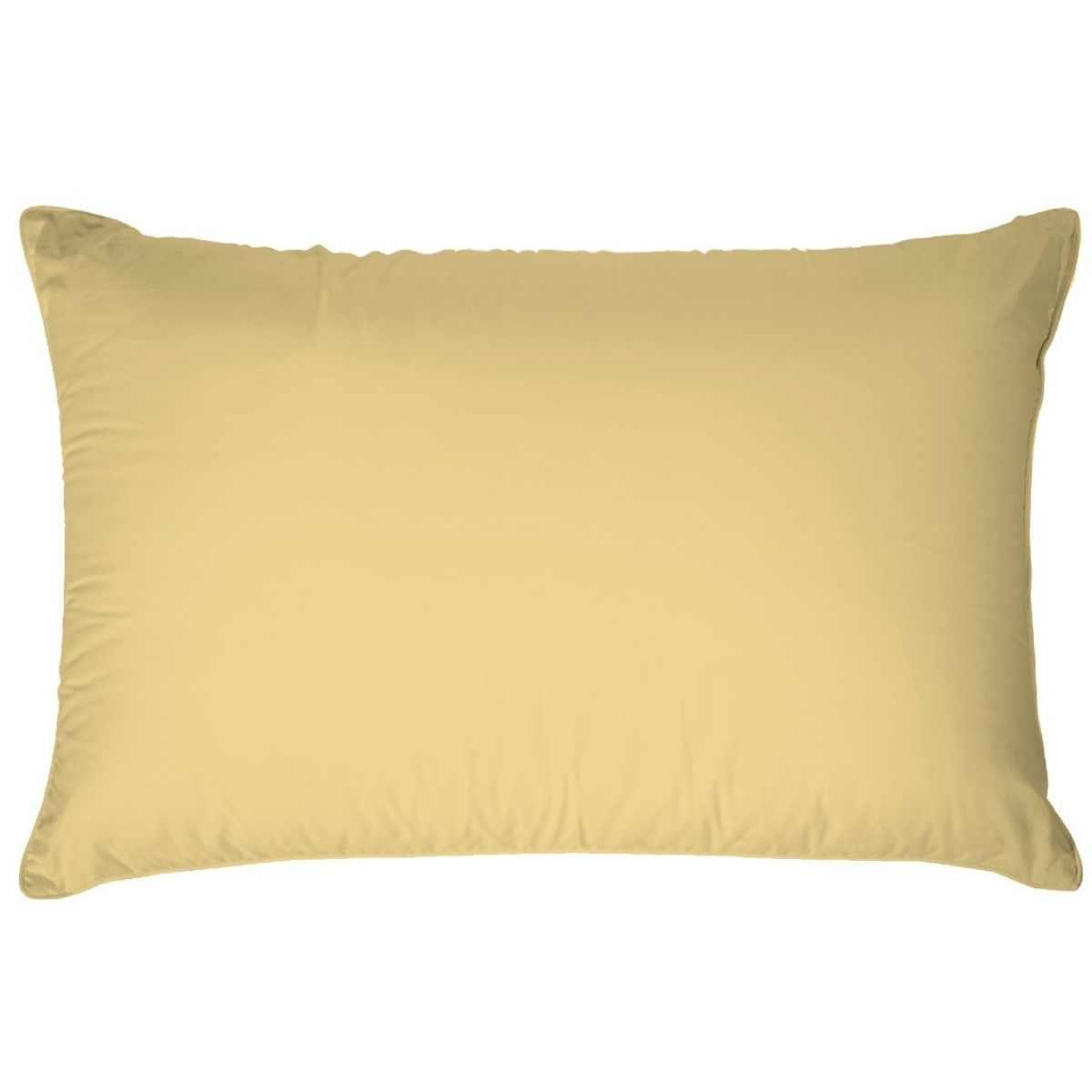 Fronha Premium 200 Fios 100% Algodão 50x70 Amarelo