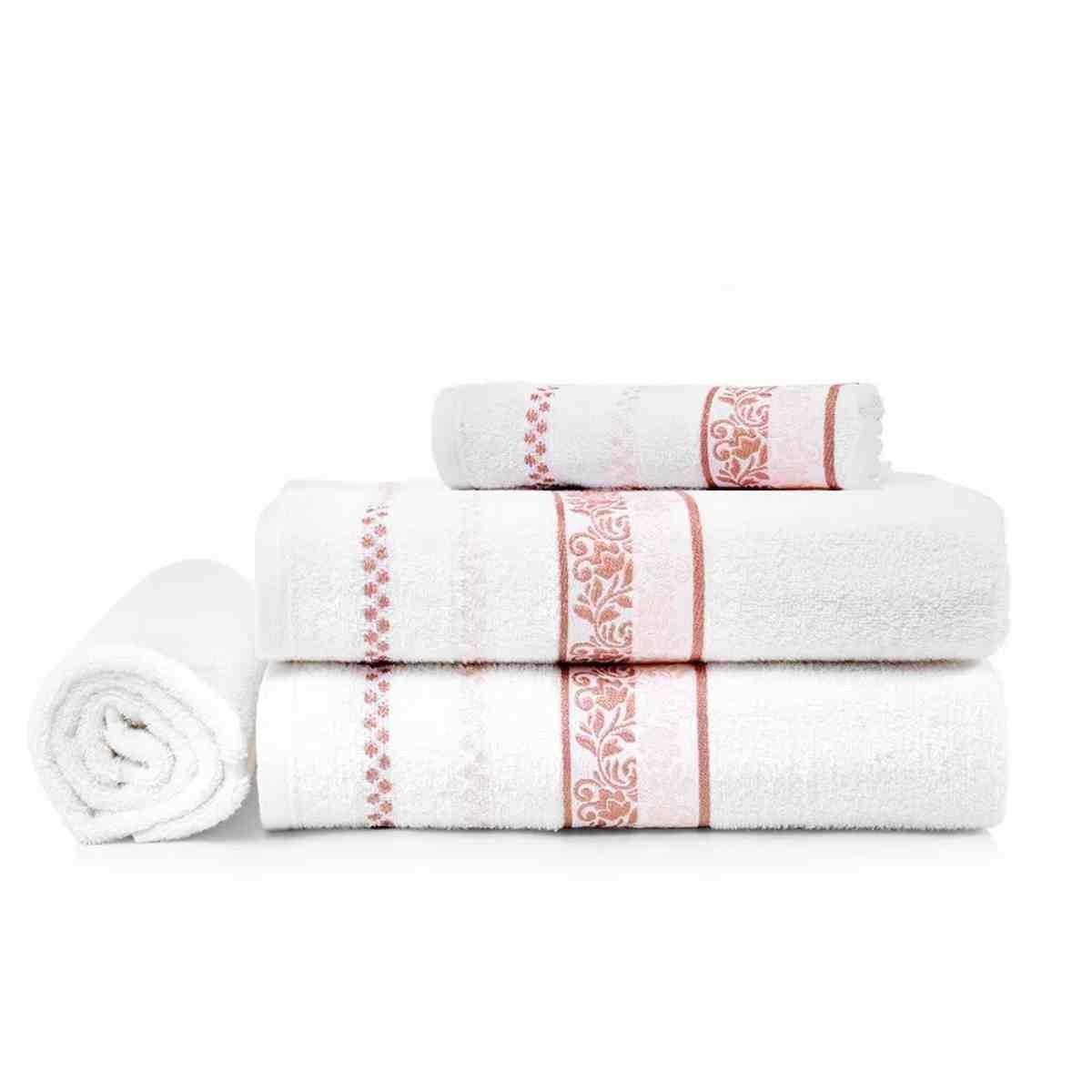 Jogo de banho Clarissa 4pcs Branco