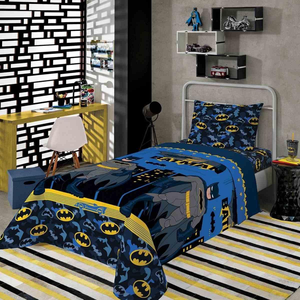 Jg cama infantil 2pcs BATMAN