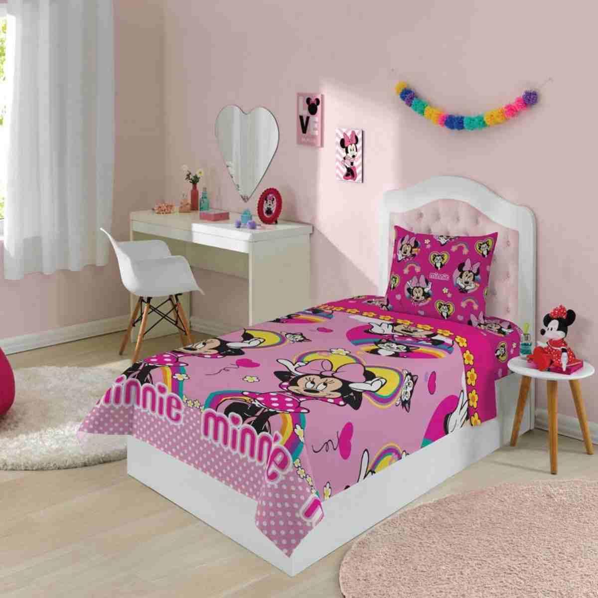 Jogo de Cama Infantil 2 Pcs - Minnie