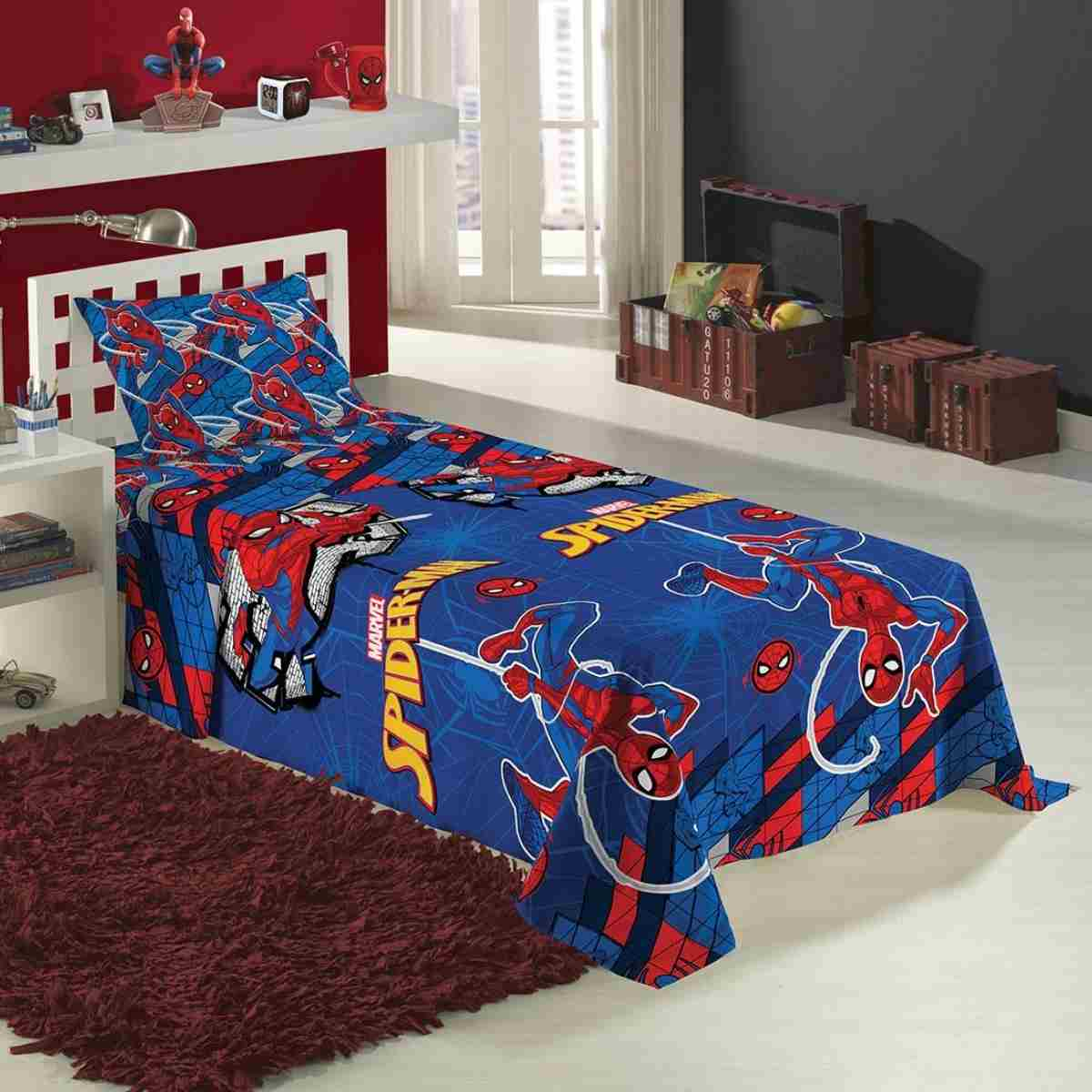 Jogo de Cama Infantil 2 Pcs - Spider-Man