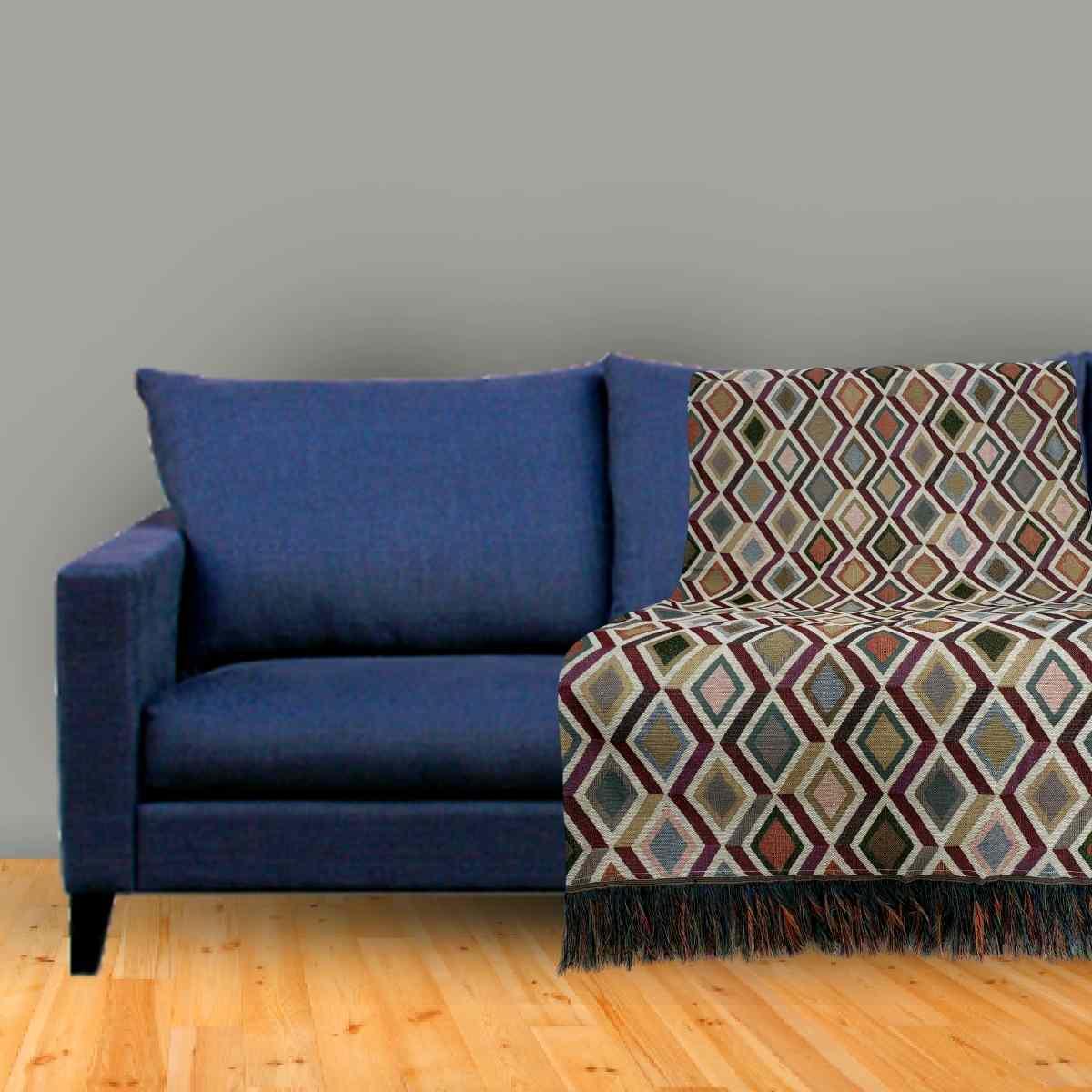 Manta sofa jacquard 140x140 DES235