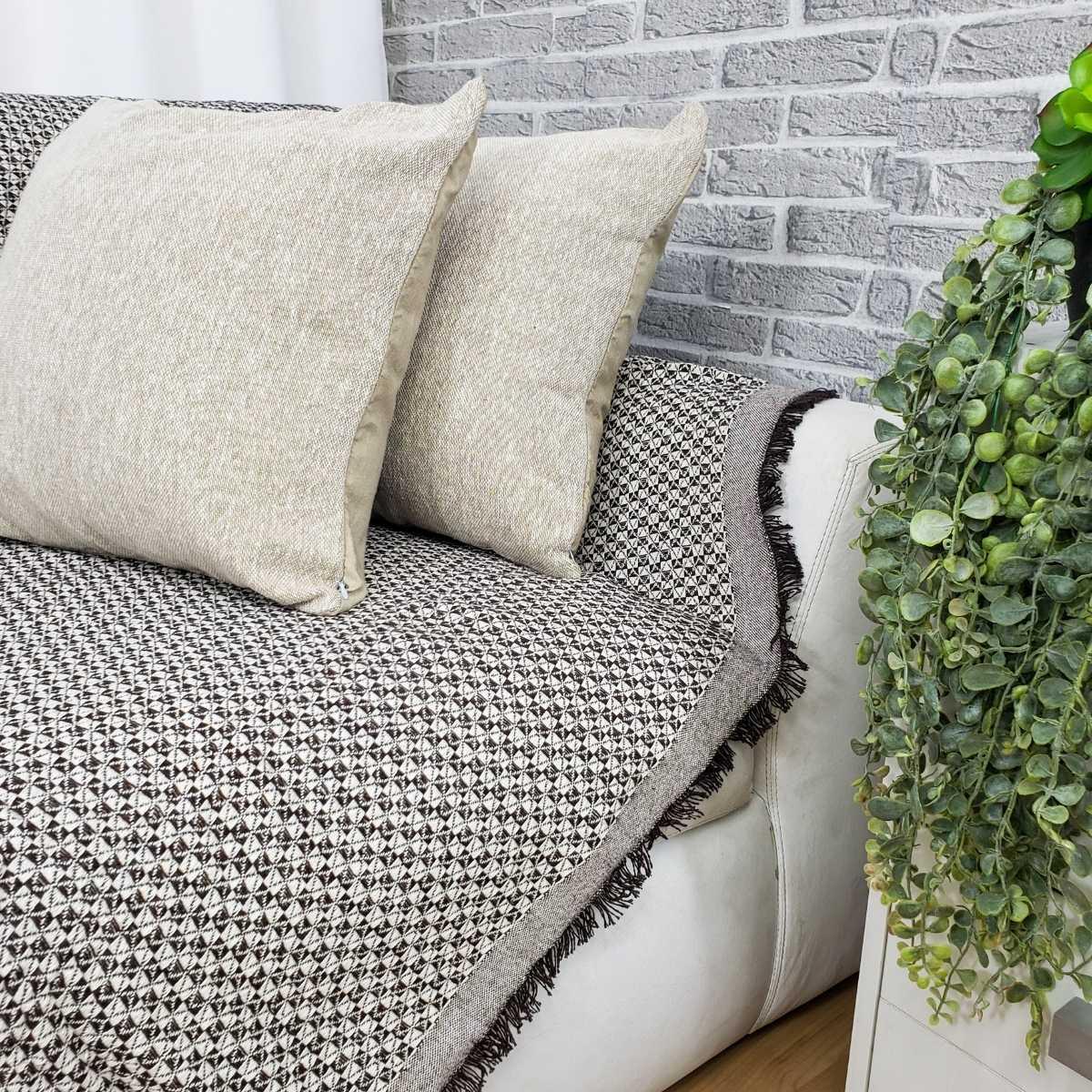 Manta sofa soft 140x170 BALI 03 MARROM