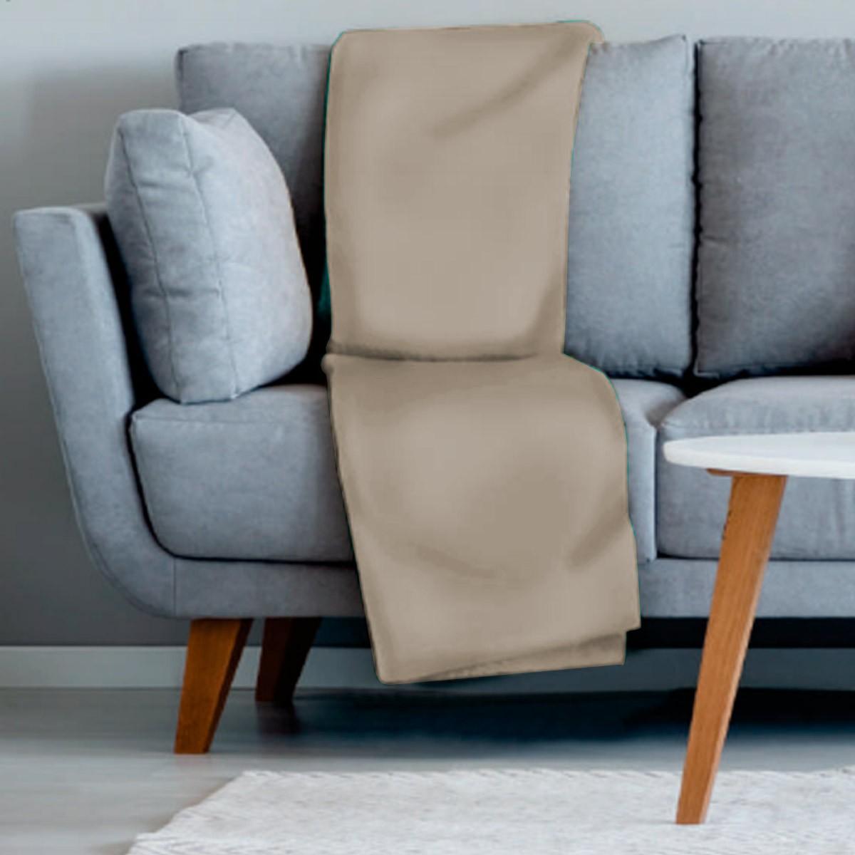 Manta sofa veludo 210x140 PALHA