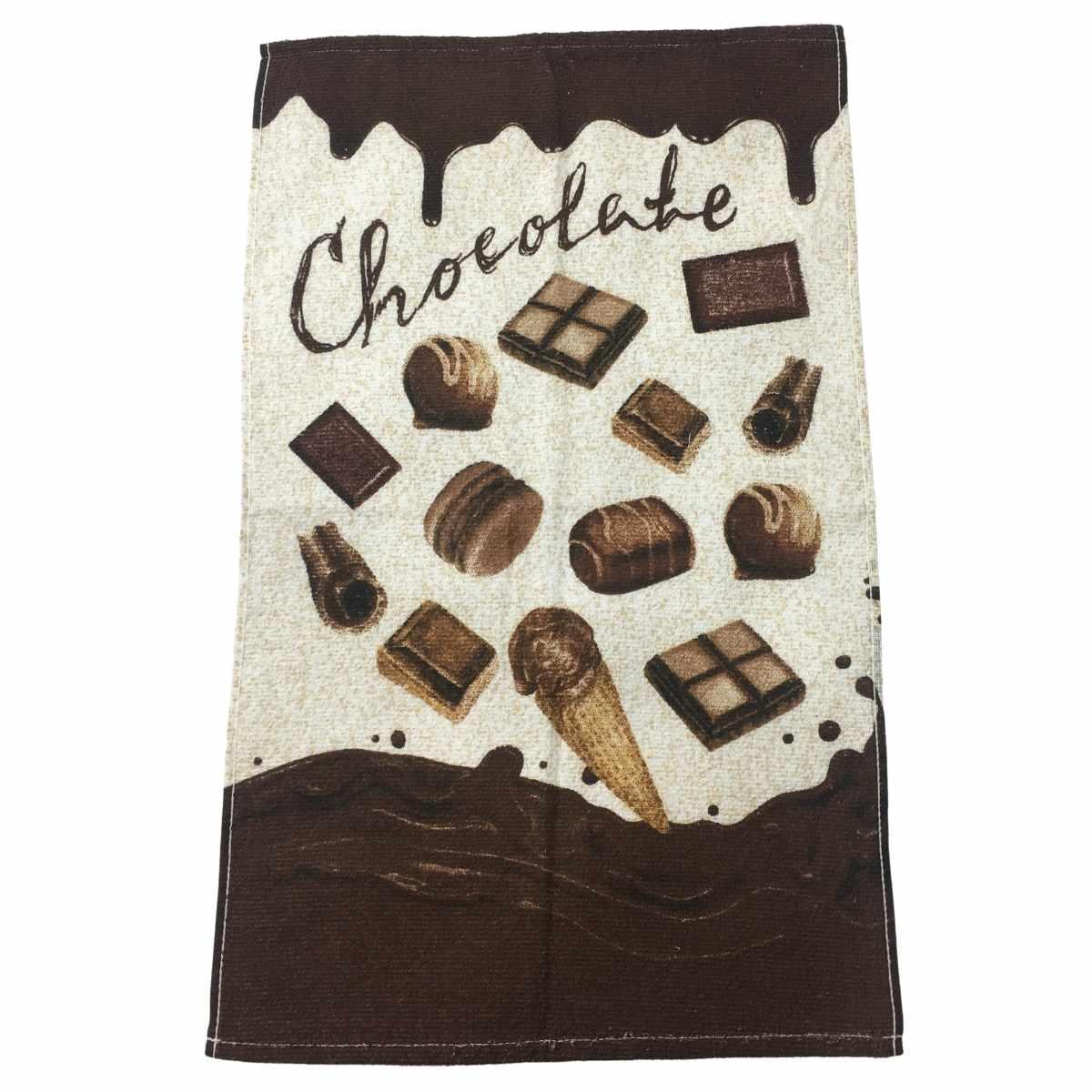 Pano Copa Felpudo 40x65 Chocolates 1