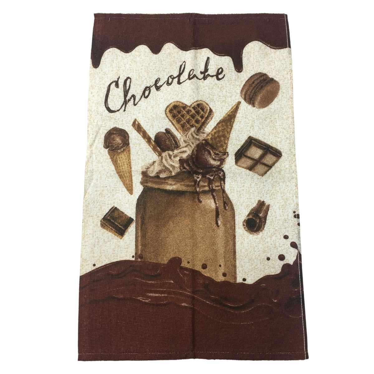 Pano Copa Felpudo 40x65 Chocolates 3