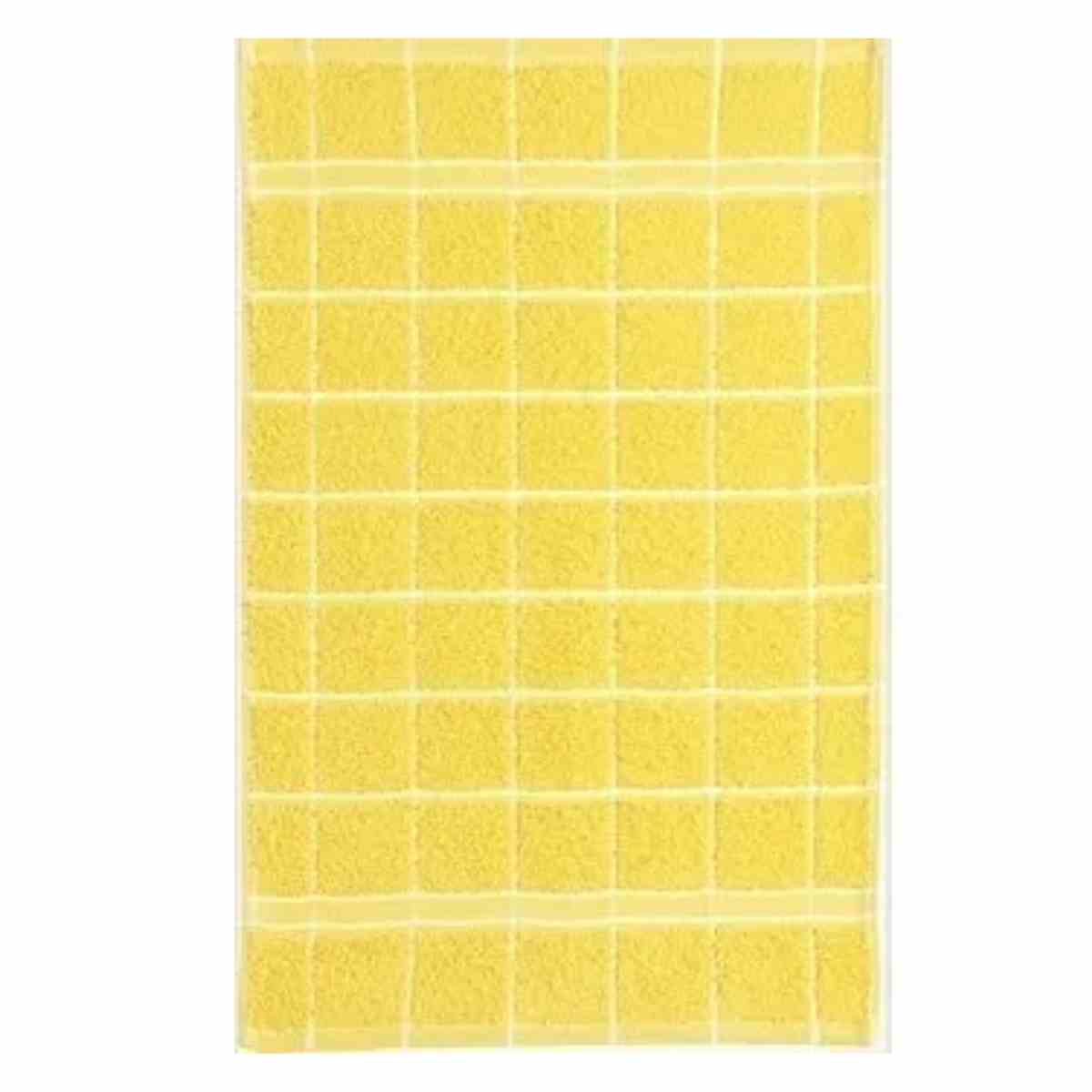 Pano de Copa Grid Amarelo