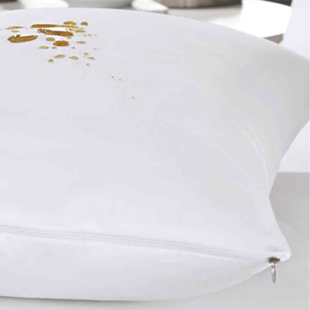 Protetor de Travesseiro Malha Impermeável 50x70 Única