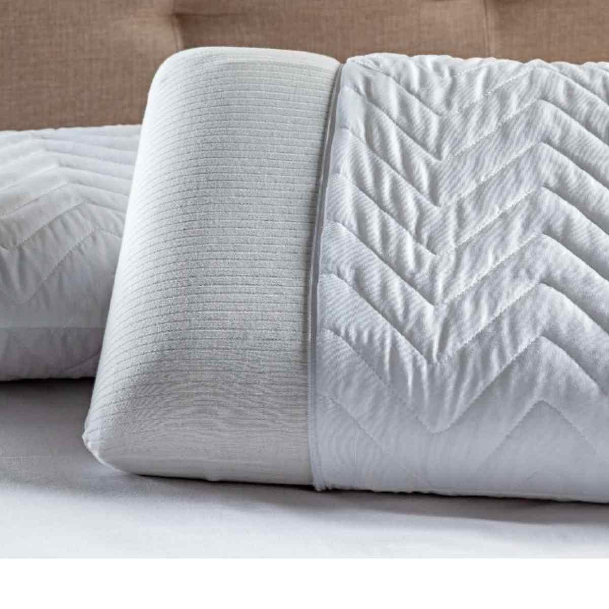 Protetor travesseiro matelado BRANCO