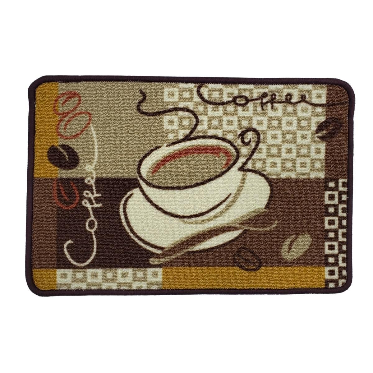 Tapete Antiderrapante Para Cozinha 40x60 Café