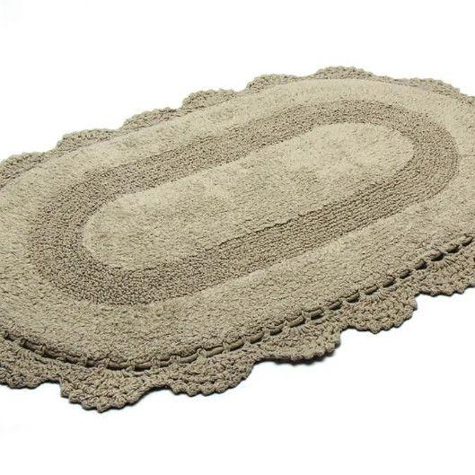 Tapete Croche Oval 40x60 FEND
