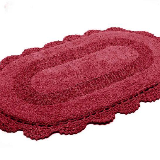 Tapete Croche Oval 40x60 MARSALE