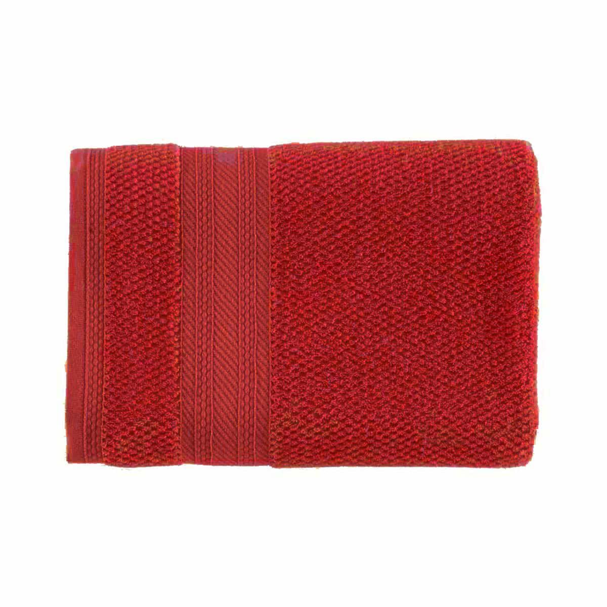 Toalha banho empire 70x135 Vermelho