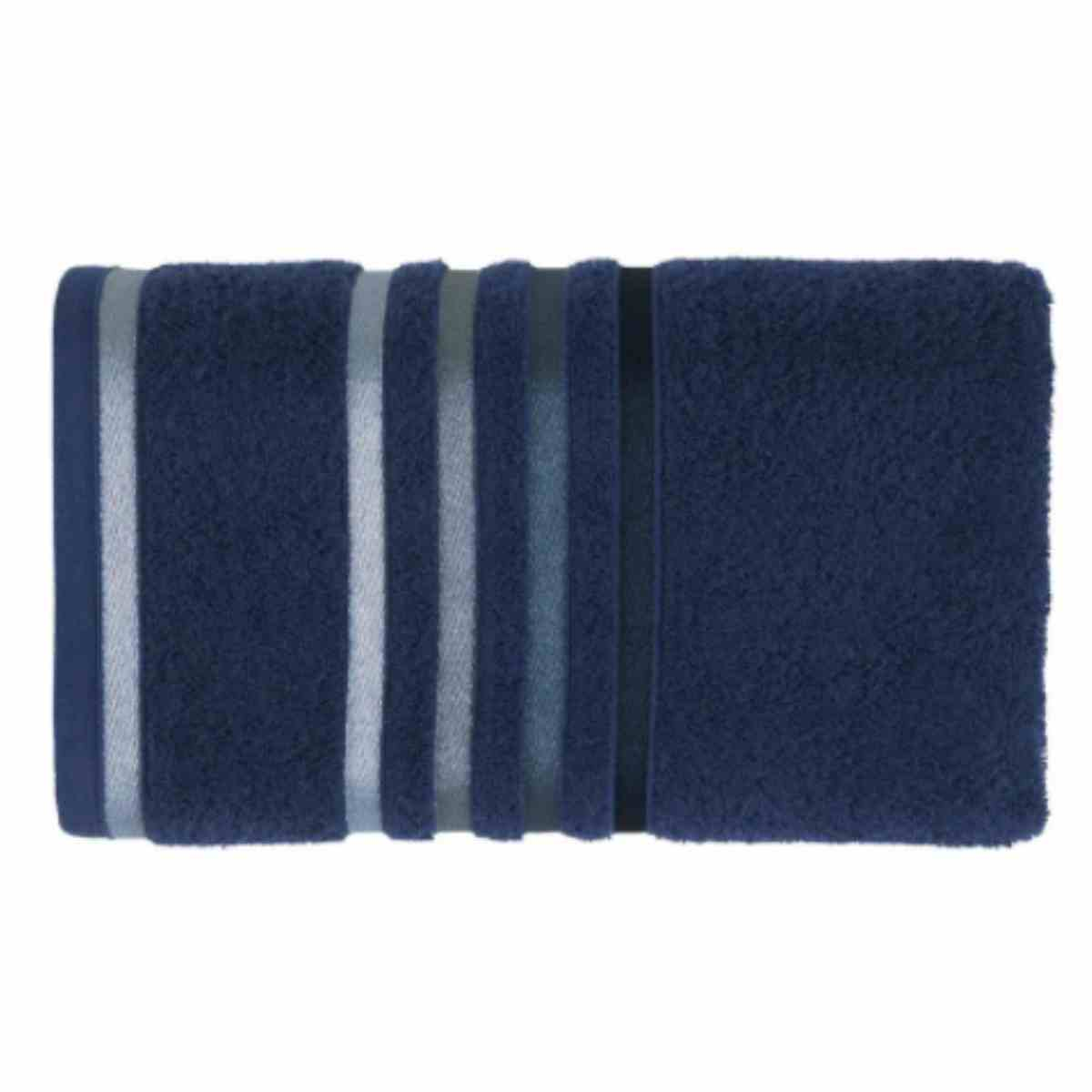 Toalha de Banho Lumina 70x140 Marinho/Azul