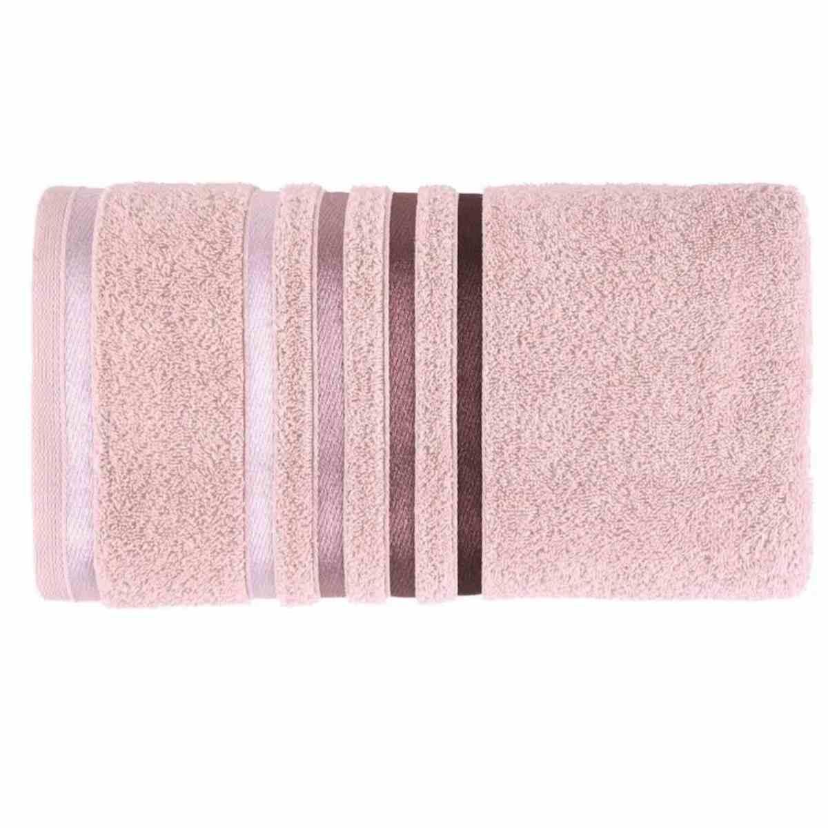 Toalha de Banho Lumina 70x140 Rose/Roxo