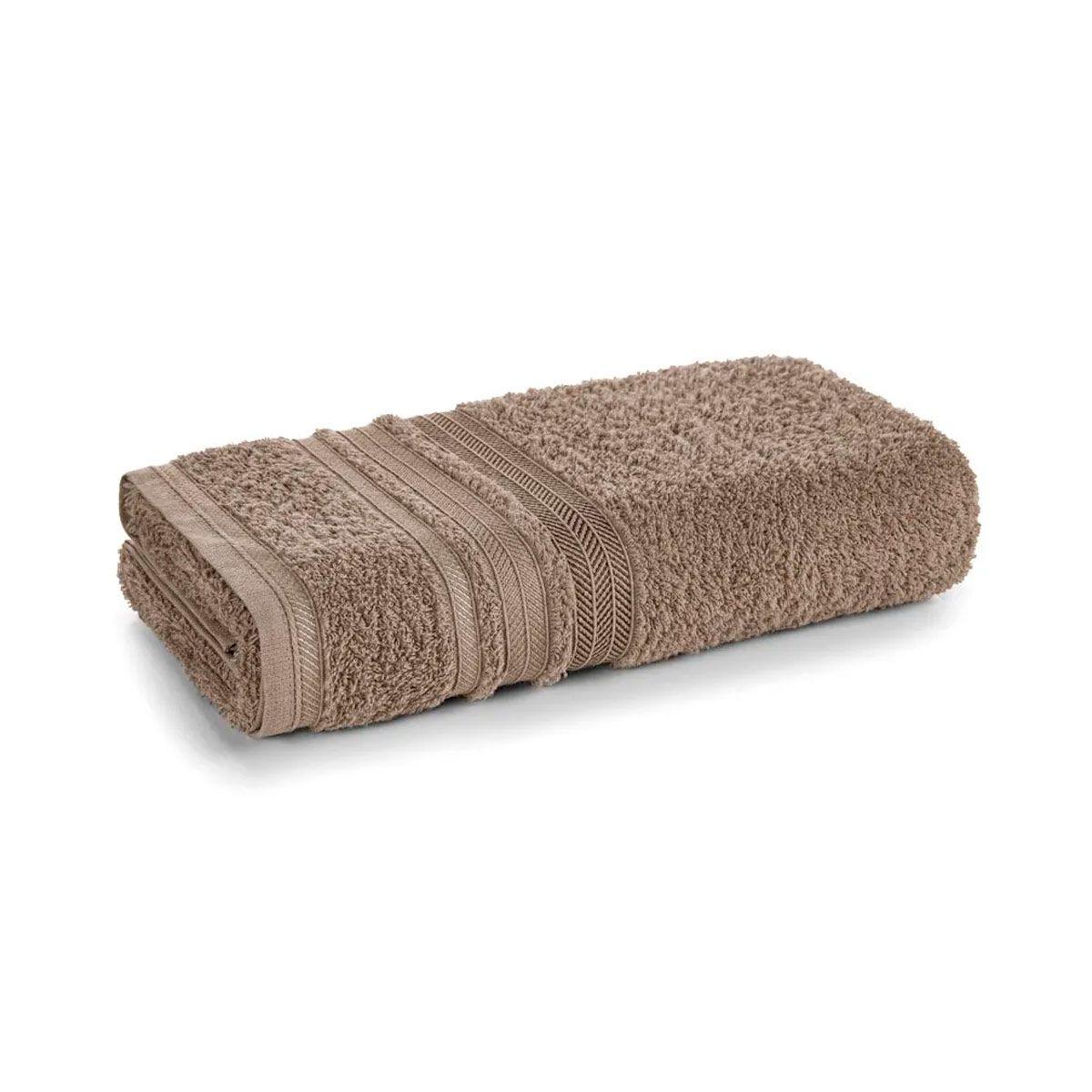 Toalha banho muniz 67x135 Taupe