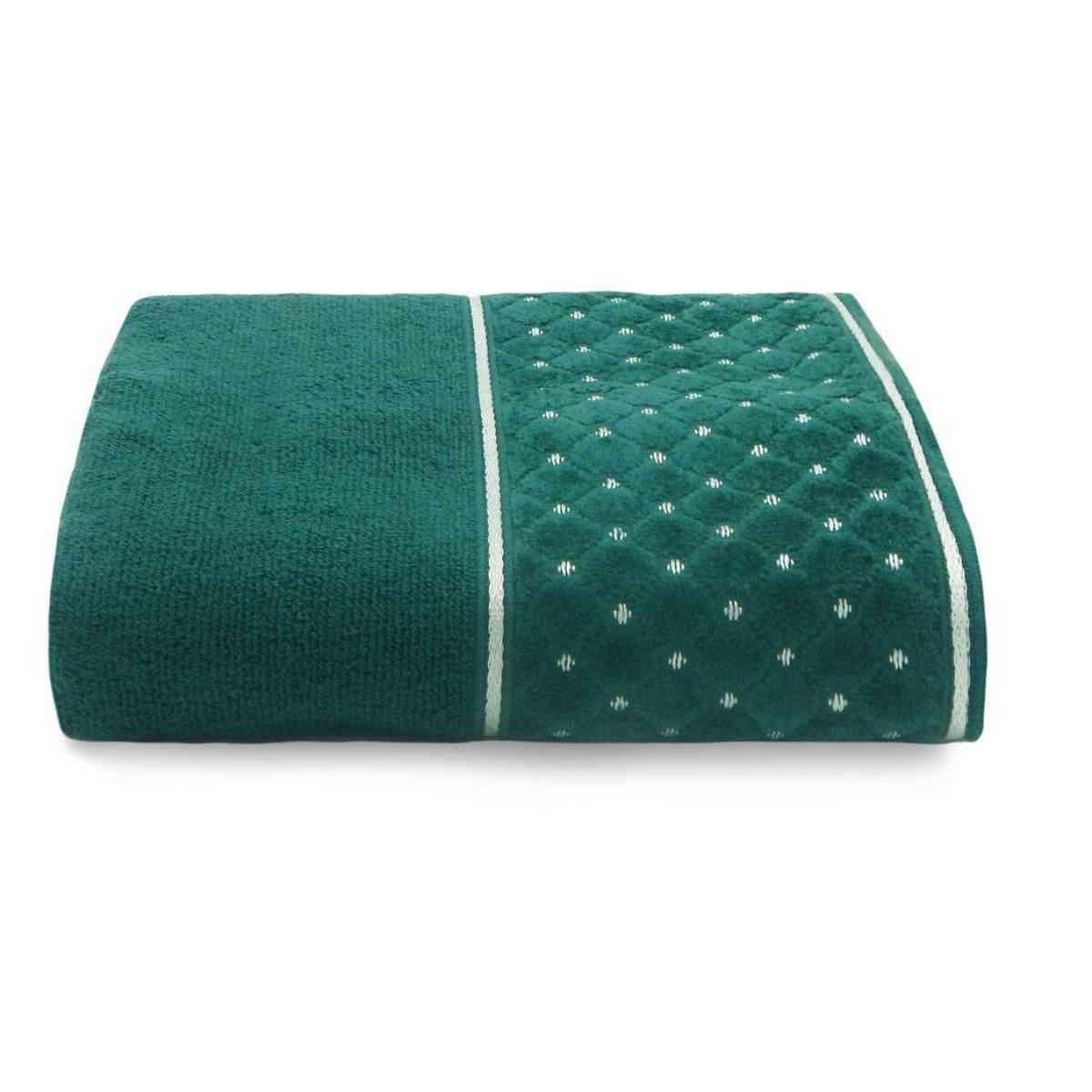 Toalha banho safira 68x140 Verde Retrô