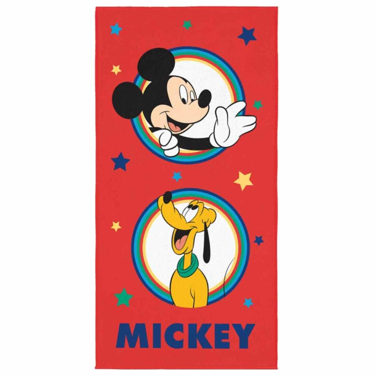 Toalha de Banho Infantil Aveludada - Mickey and Friends 61464