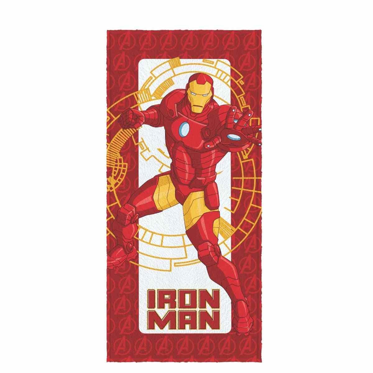 Toalha banho infantil felpuda 60x120 Avengers Est 1