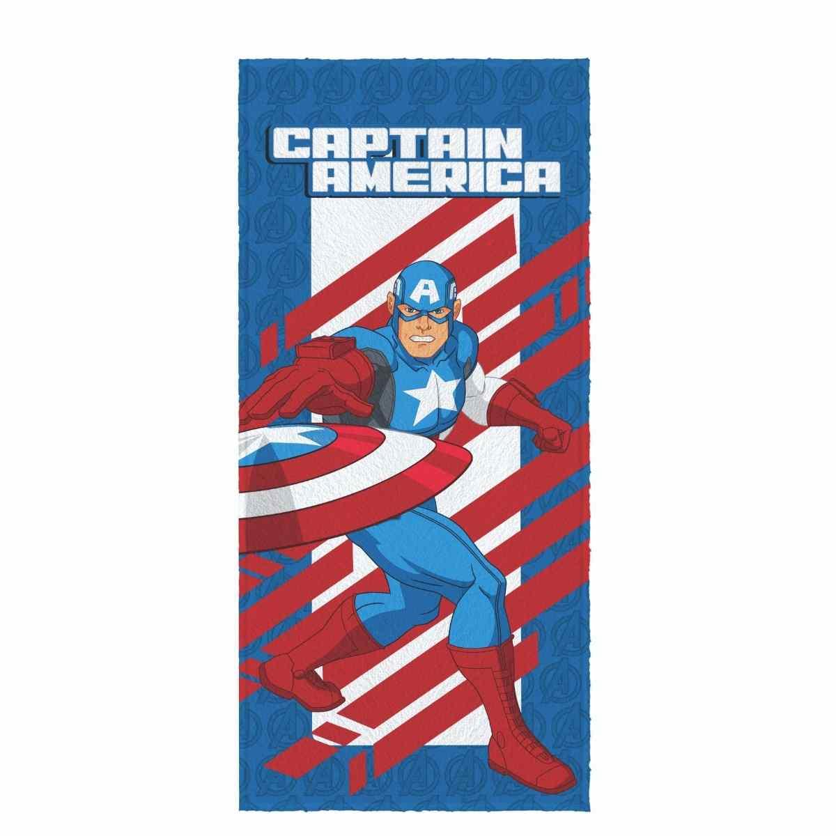 Toalha de Banho Infantil Felpuda 60x120 - Avengers Est 2