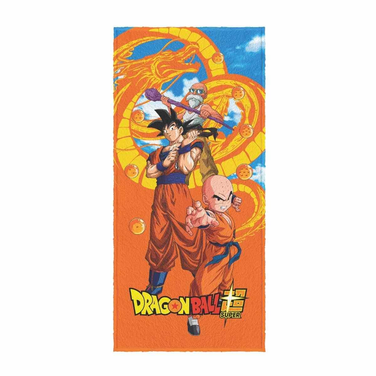 Toalha de Banho Infantil Felpuda 60x120 - Dragonball Est 5
