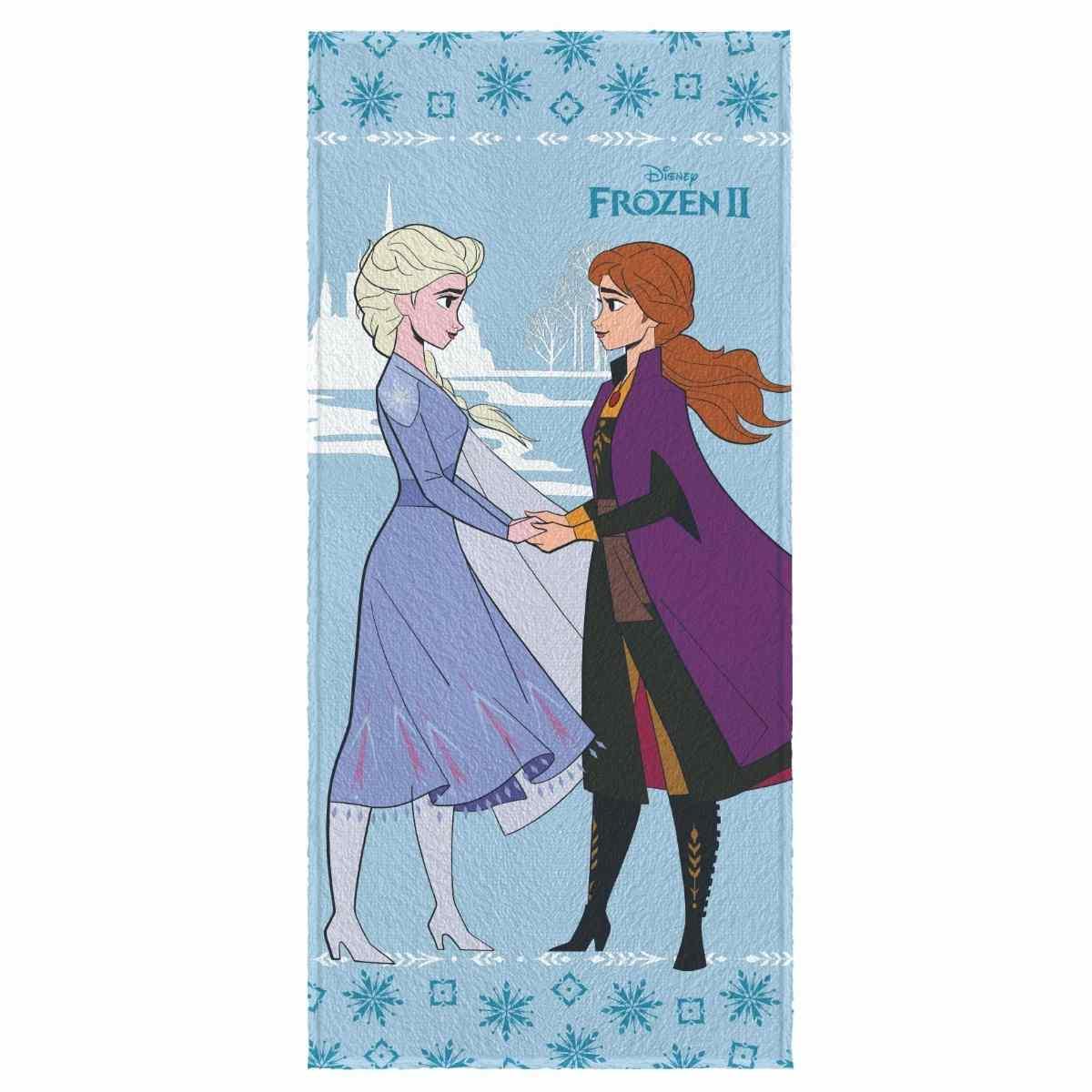 Toalha de Banho Infantil Felpuda 60x120 - Frozen Est 3