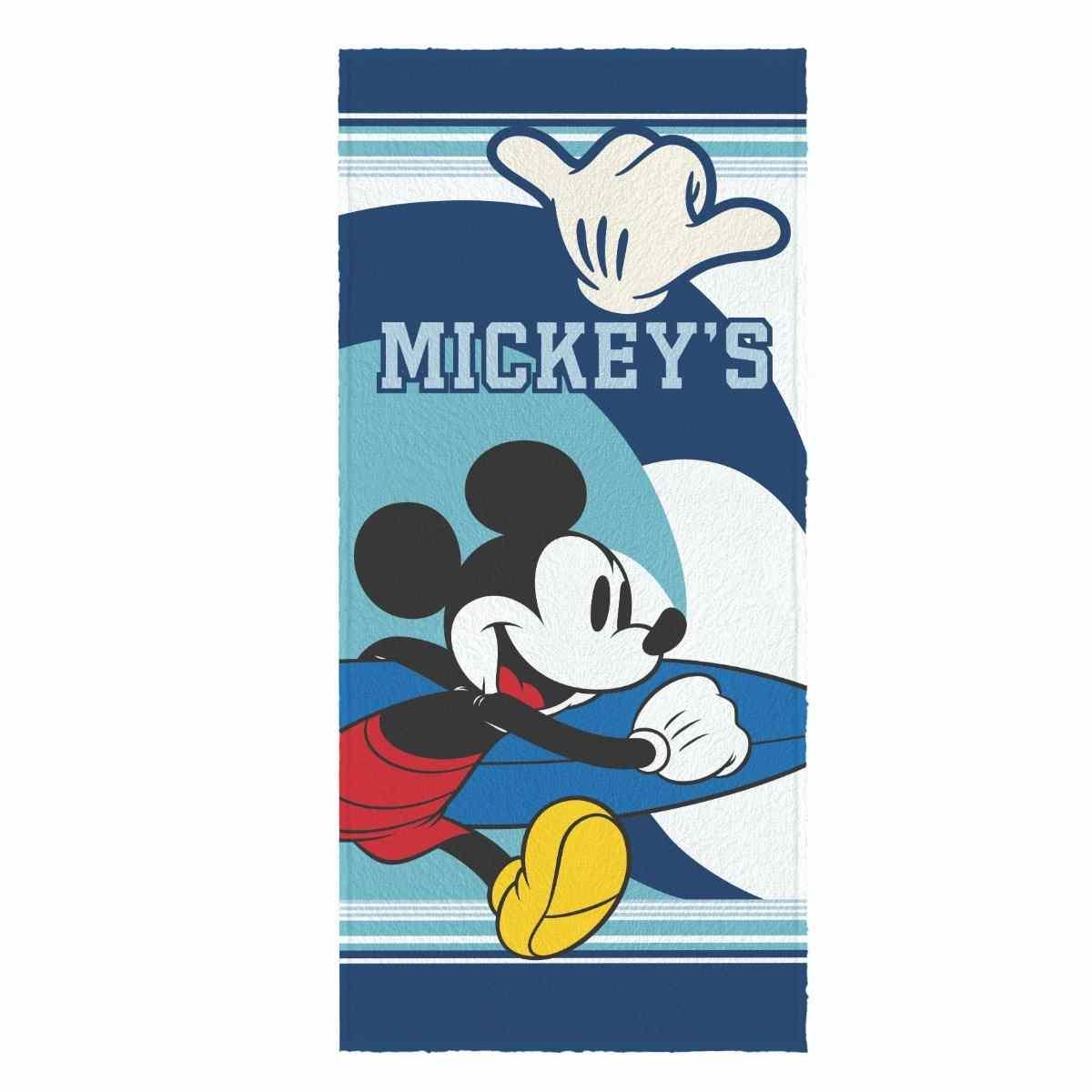 Toalha Banho Infantil Felpuda 60x120 Mickey and friends Est 4
