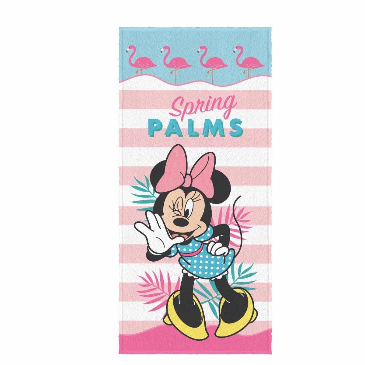 Toalha de Banho Infantil Felpuda 60x120 - Minnie Est 4