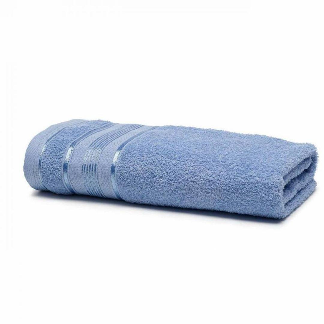 Toalha banho royal lisa 70x130 Knut Azul 6048