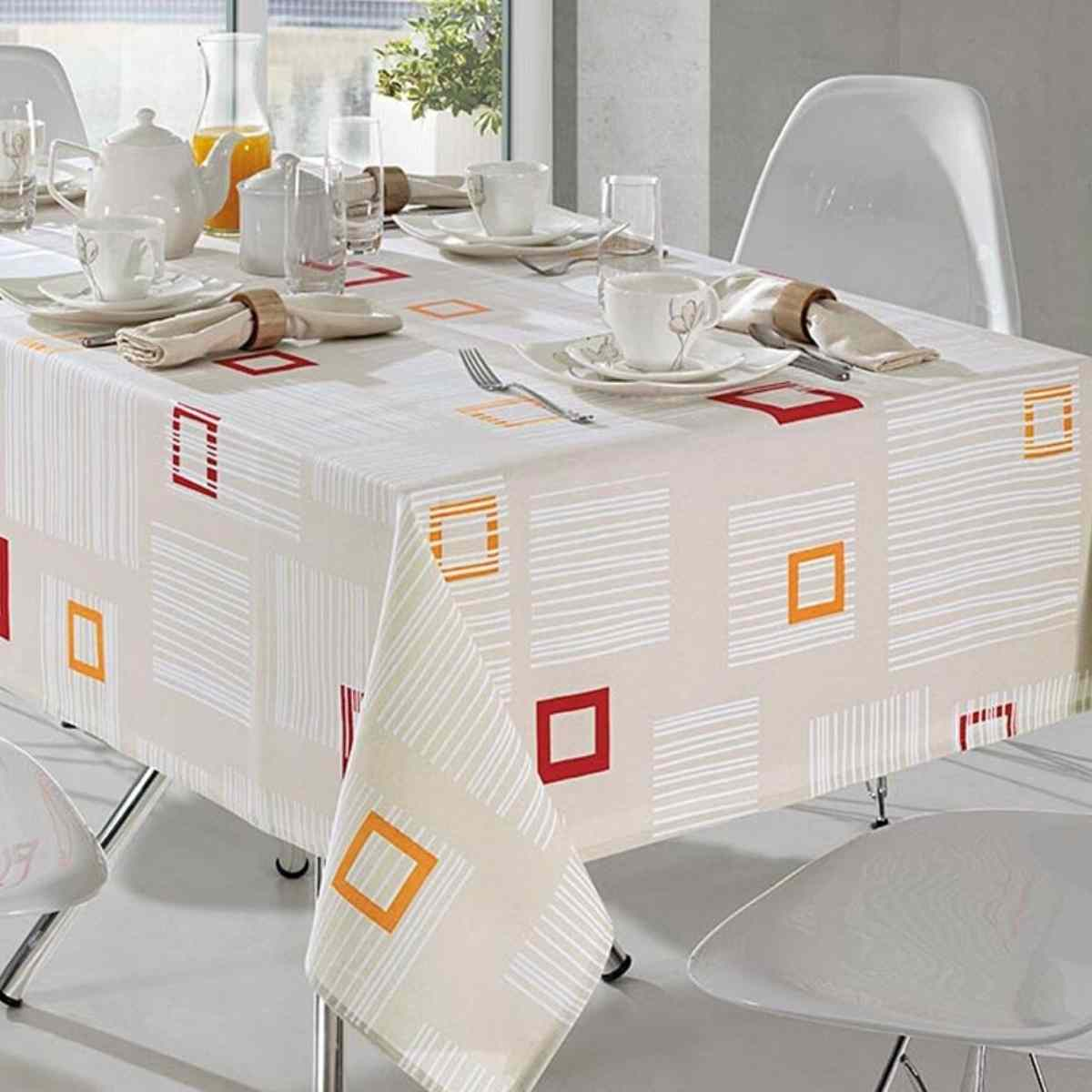 Toalha mesa limpa facil 140x140 Elidia