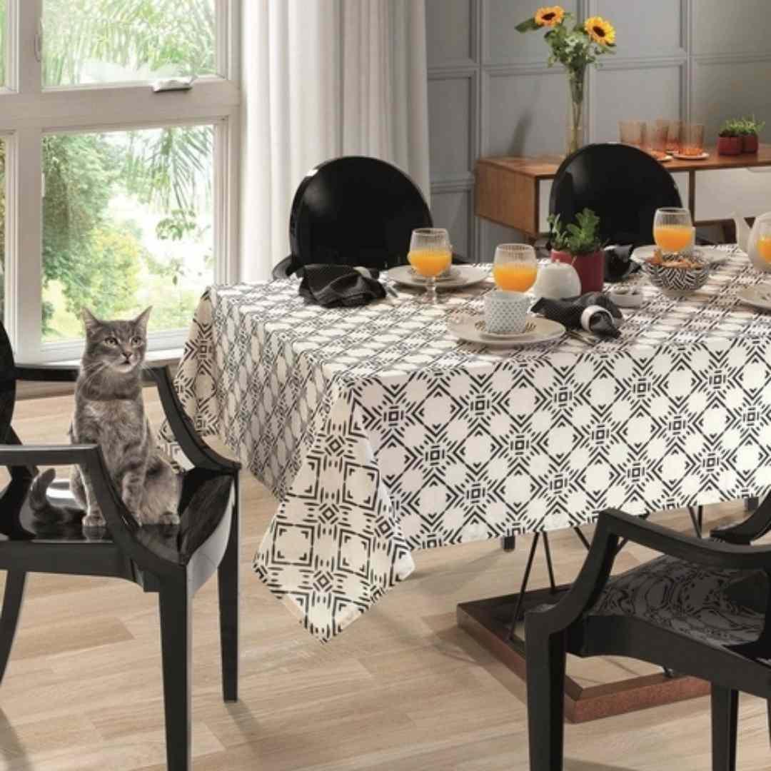 Toalha mesa limpa facil 140x210 Elsa
