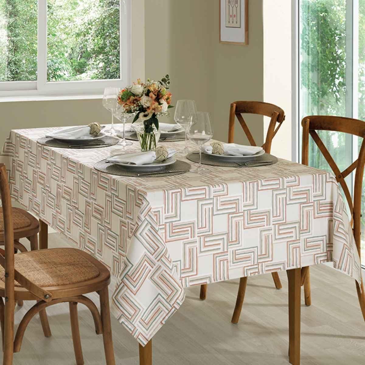 Toalha mesa limpa facil 140x210 Emily