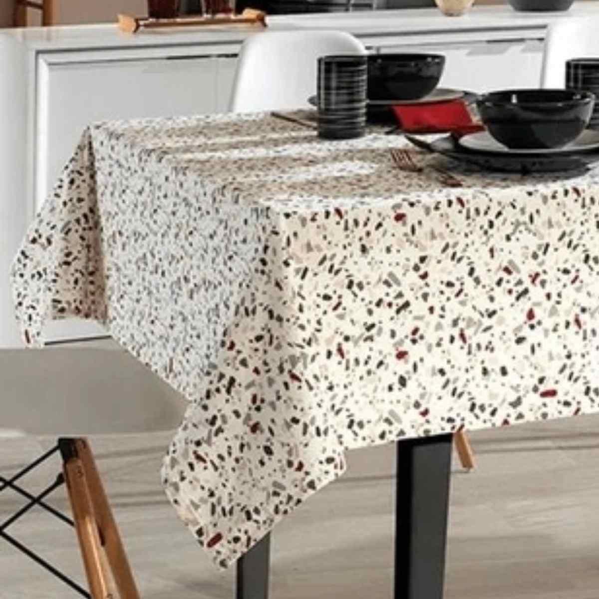 Toalha mesa limpa facil 140x210 Evelyn