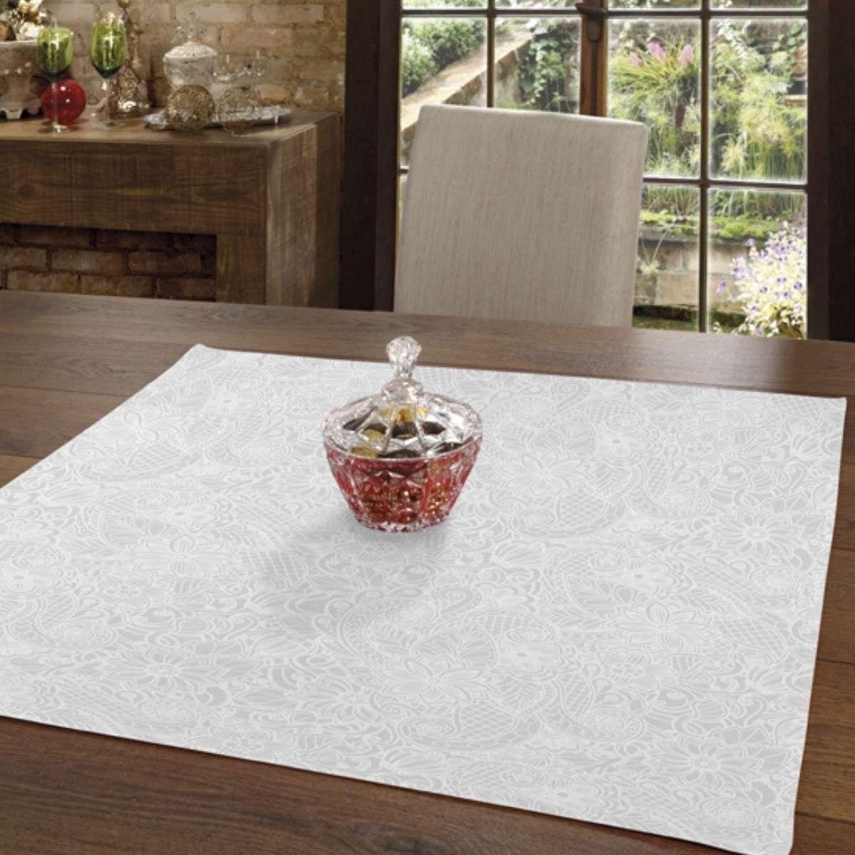 Toalha mesa limpa facil 78x78 Edite