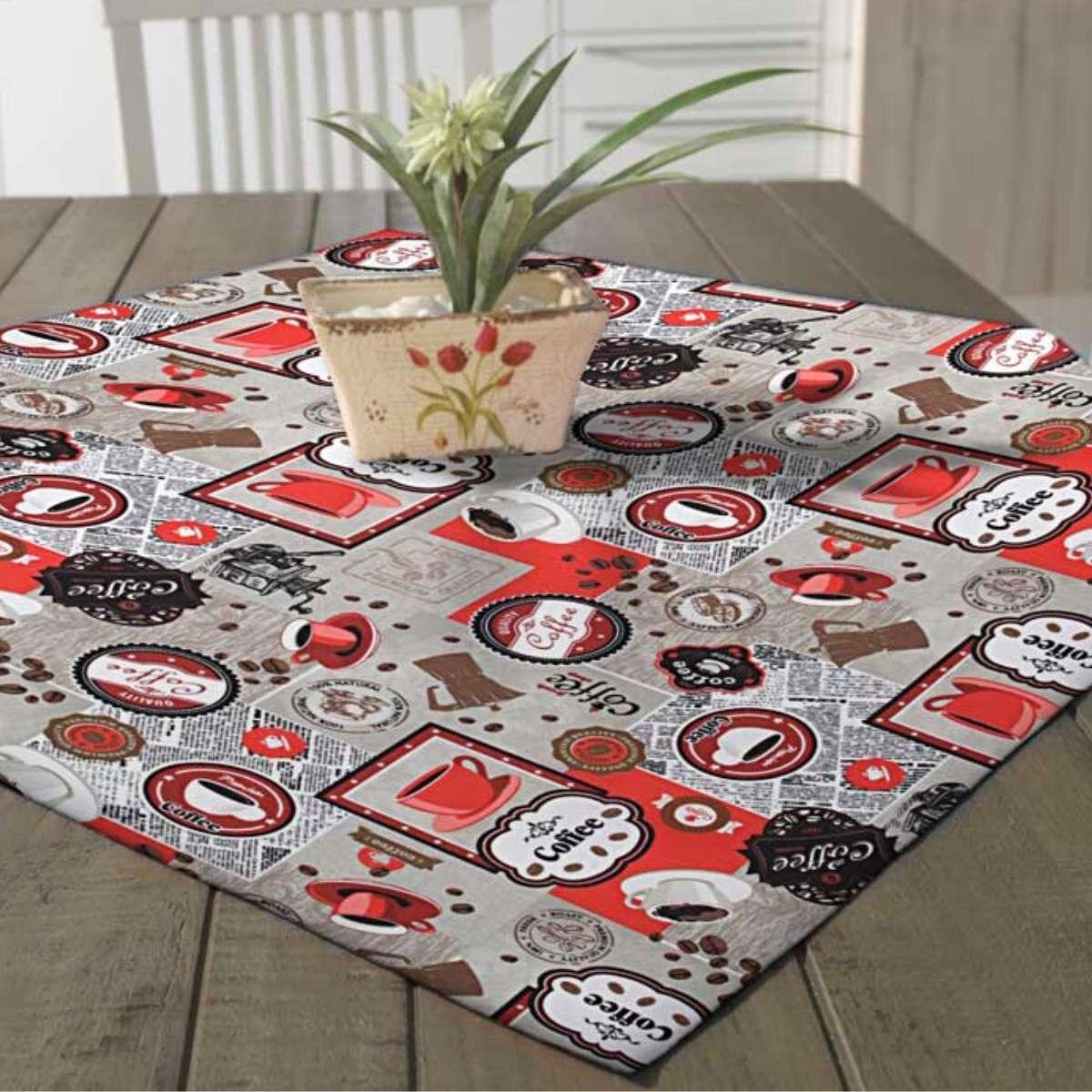 Toalha mesa limpa facil 78x78 Edna