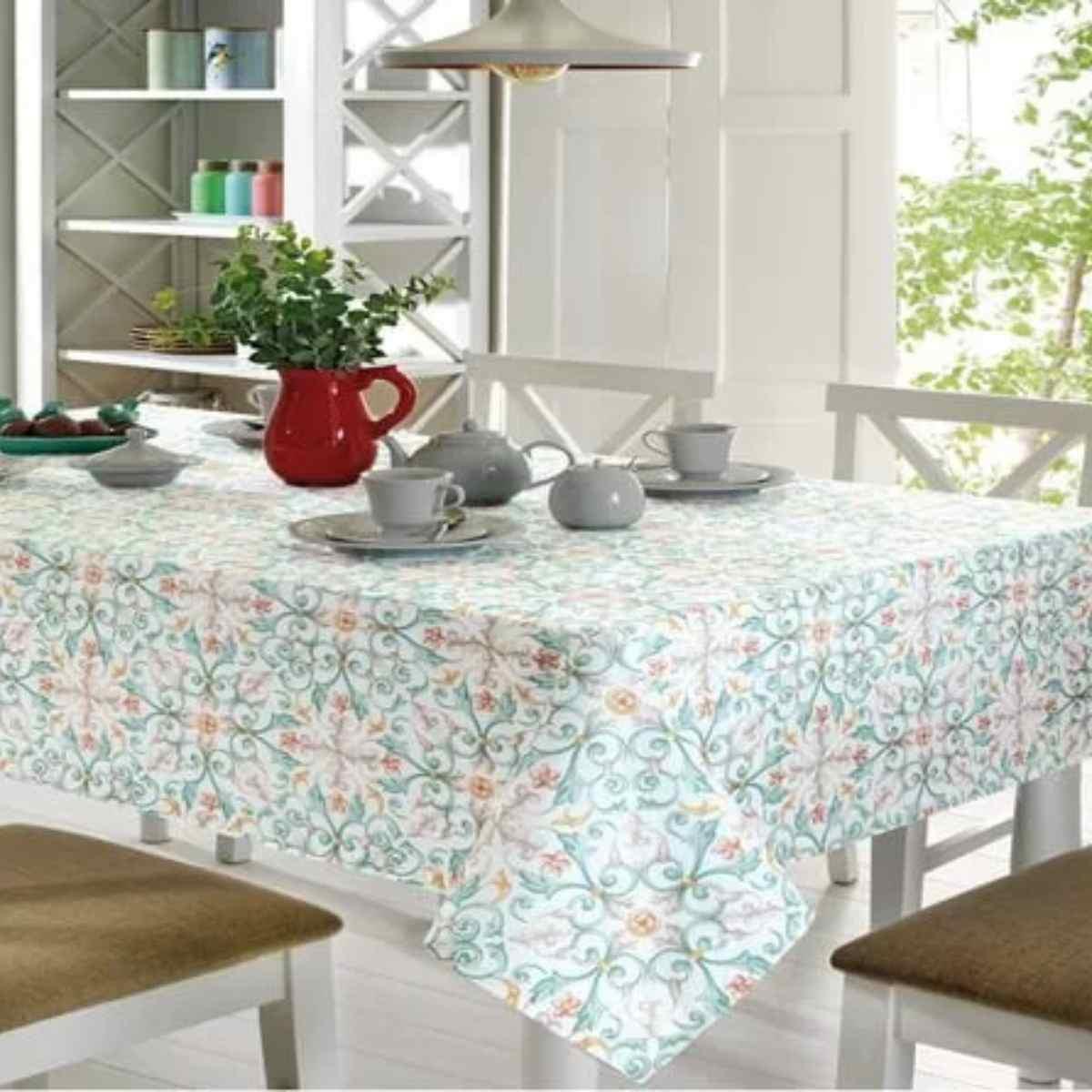 Toalha mesa limpa facil 78x78 Elaine