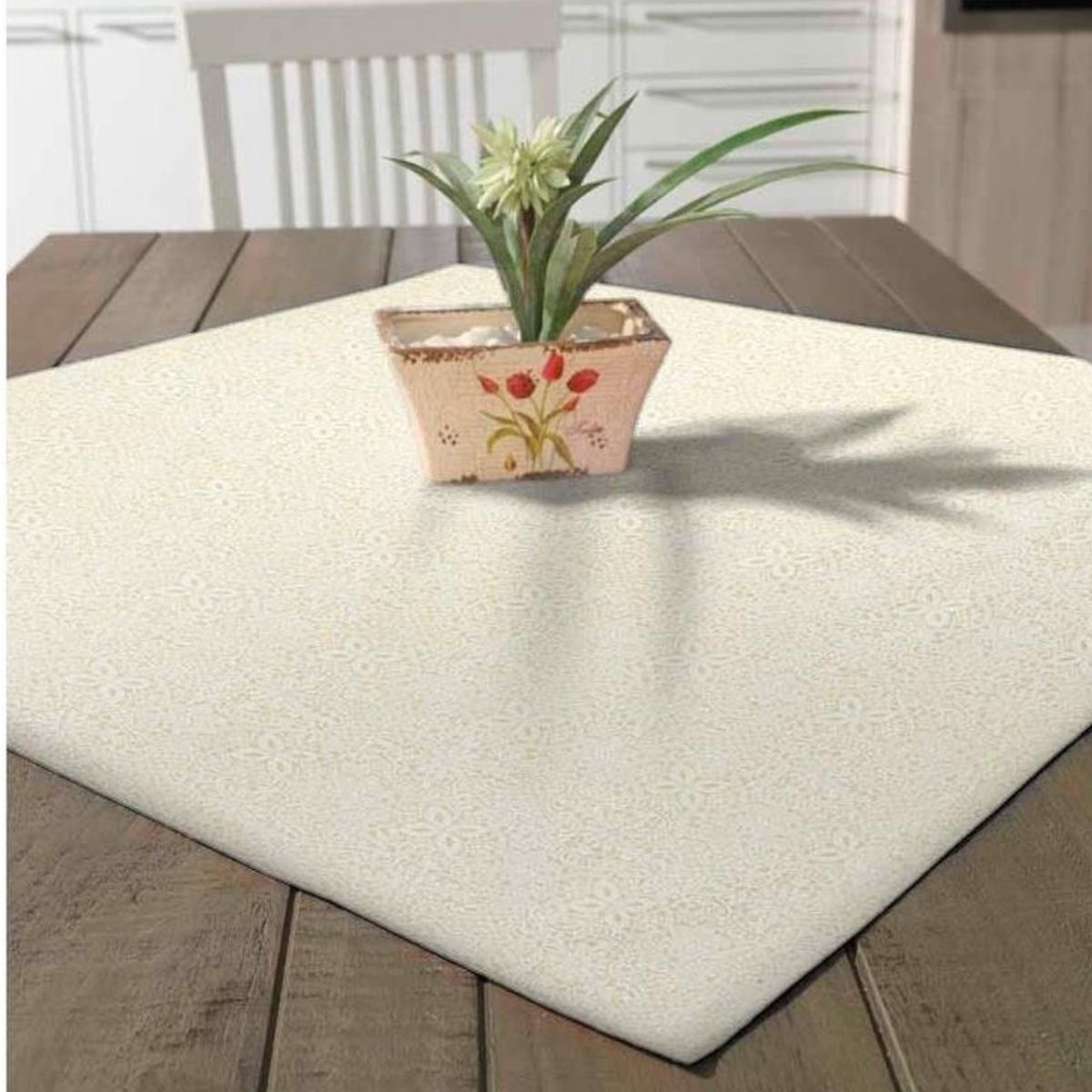 Toalha mesa limpa facil 78x78 Eliete
