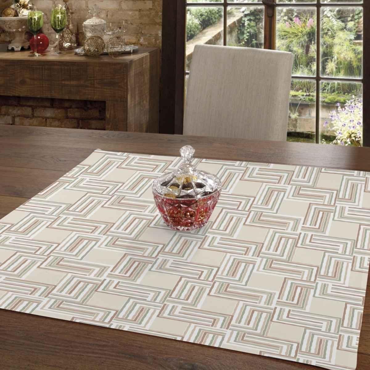 Toalha mesa limpa facil 78x78 Emily