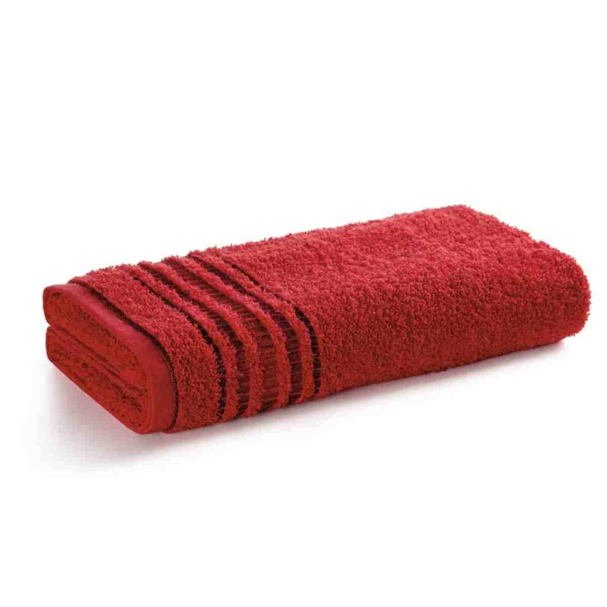 Toalha rosto arantes 49x70 Vermelho