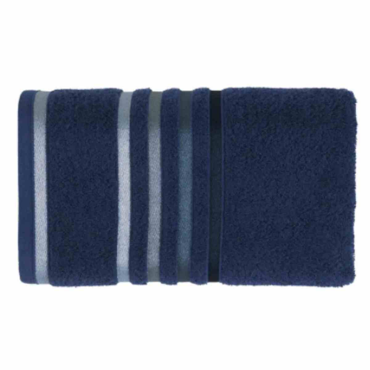 Toalha rosto lumina 48x80 Marinho/Azul