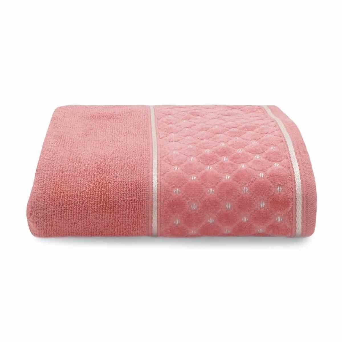 Toalha rosto safira 50x75 Blush