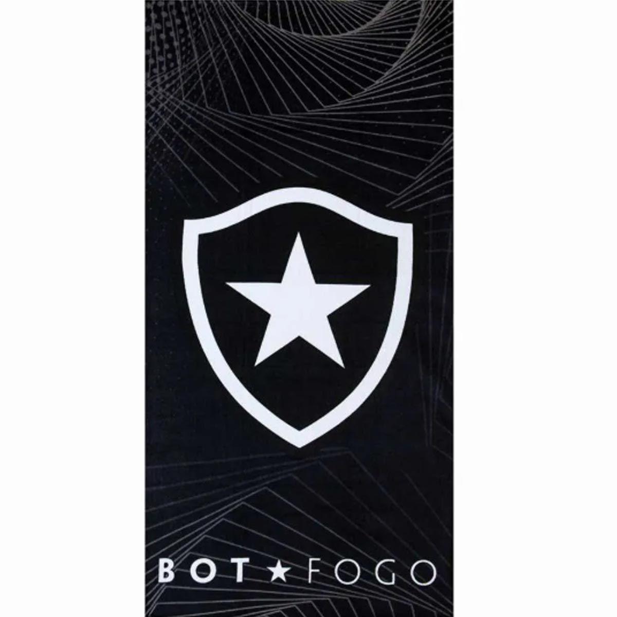 Toalha Time Velour 76x1.52 Botafogo 08