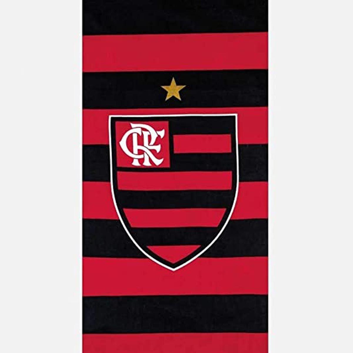 Toalha Time Velour 76x1.52 Flamengo 14