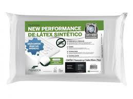 Travesseiro latex plus lavavel 50x70
