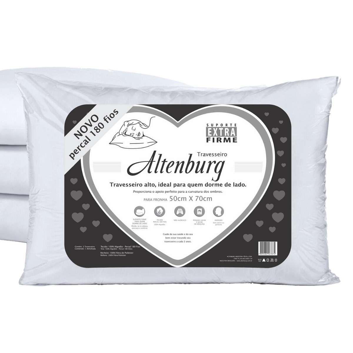 Travesseiro extra firme 50x70