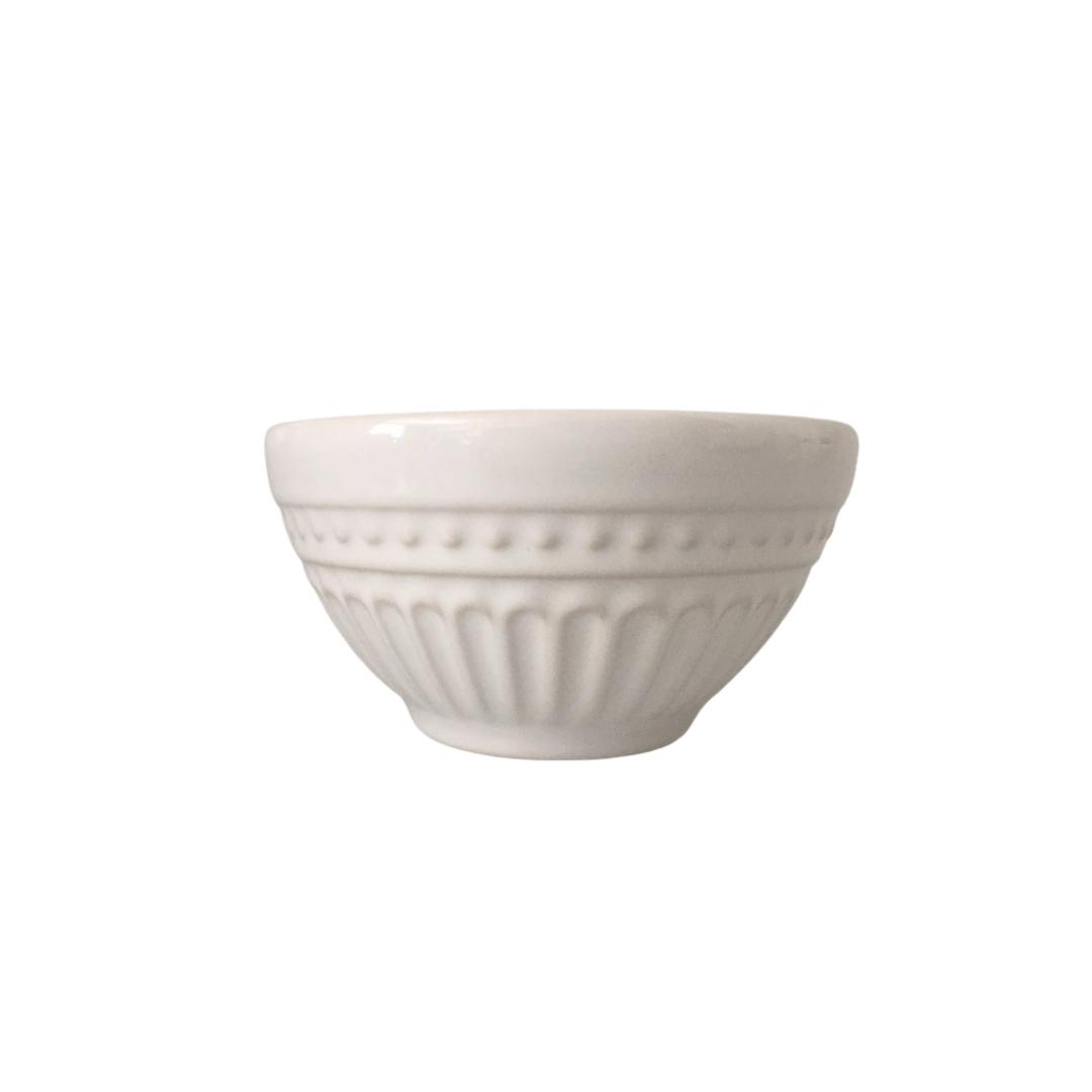 Bowl 01 Peça Branco Pergamo Porto Brasil
