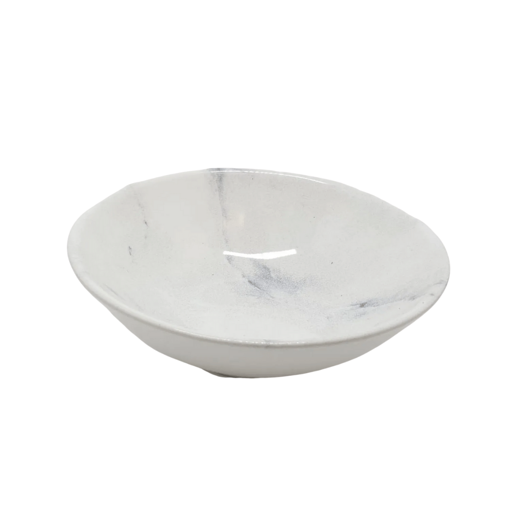 Bowl Decorado 01 Peça Mármore Alleanza