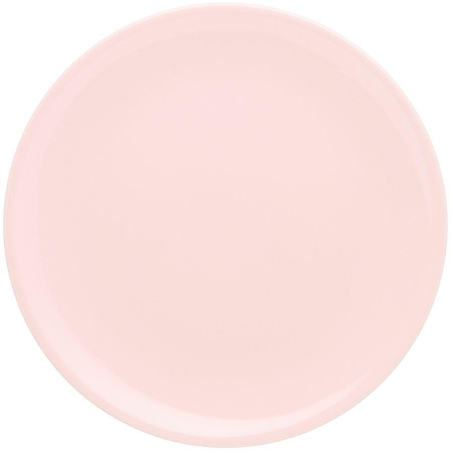 Prato Raso 01 Peça Unni Milenial Rosa 26cm Oxford