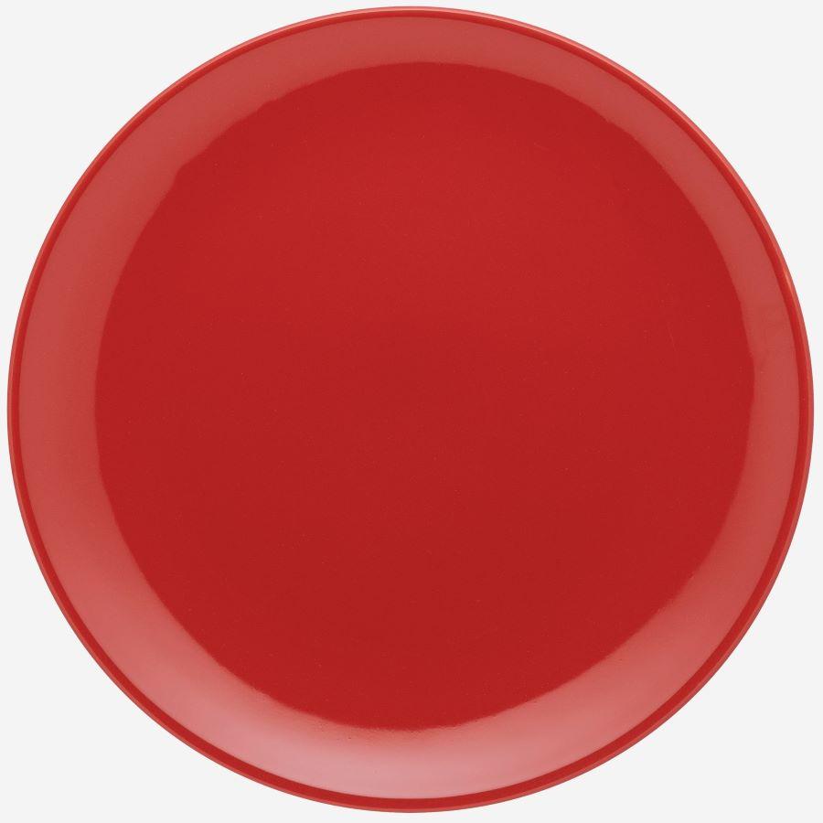 Prato Raso 01 Peça Unni Red Oxford